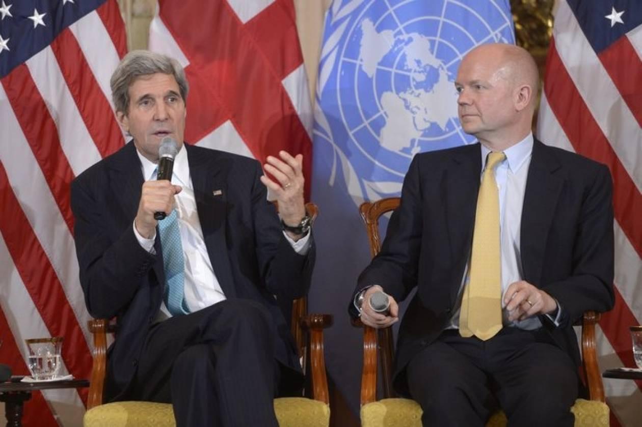 Κέρι: Η κρίση στη Ουκρανία δεν θα φέρει αντιμέτωπες ΗΠΑ και Ρωσία
