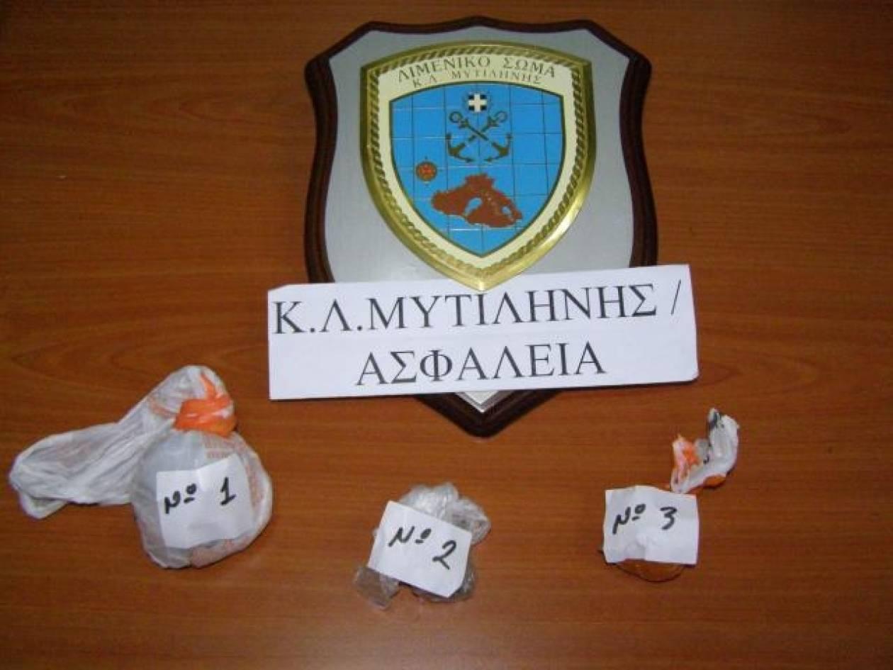 Συνελήφθη 25χρονη για κατοχή ναρκωτικών στη Μυτιλήνη