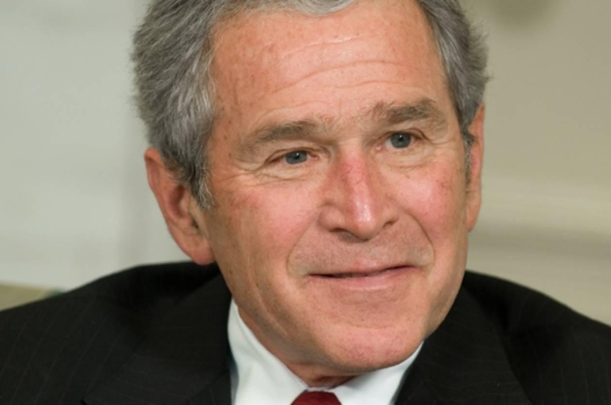Έκθεση με πορτραίτα θα παρουσιάσει ο Τζορτζ Μπους