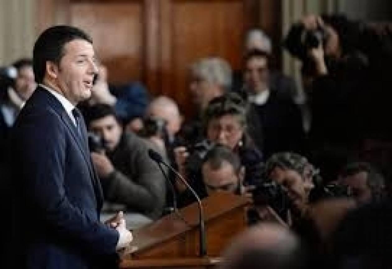 Ιταλία:Ο Ρέντσι ξεκινά την πρωθυπουργική του θητεία από ένα σχολείο