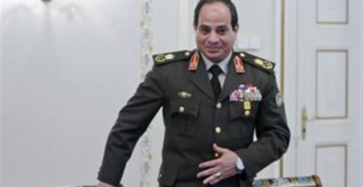 Αίγυπτος: Παραμένει υπουργός Άμυνας ο στρατάρχης Σίσι