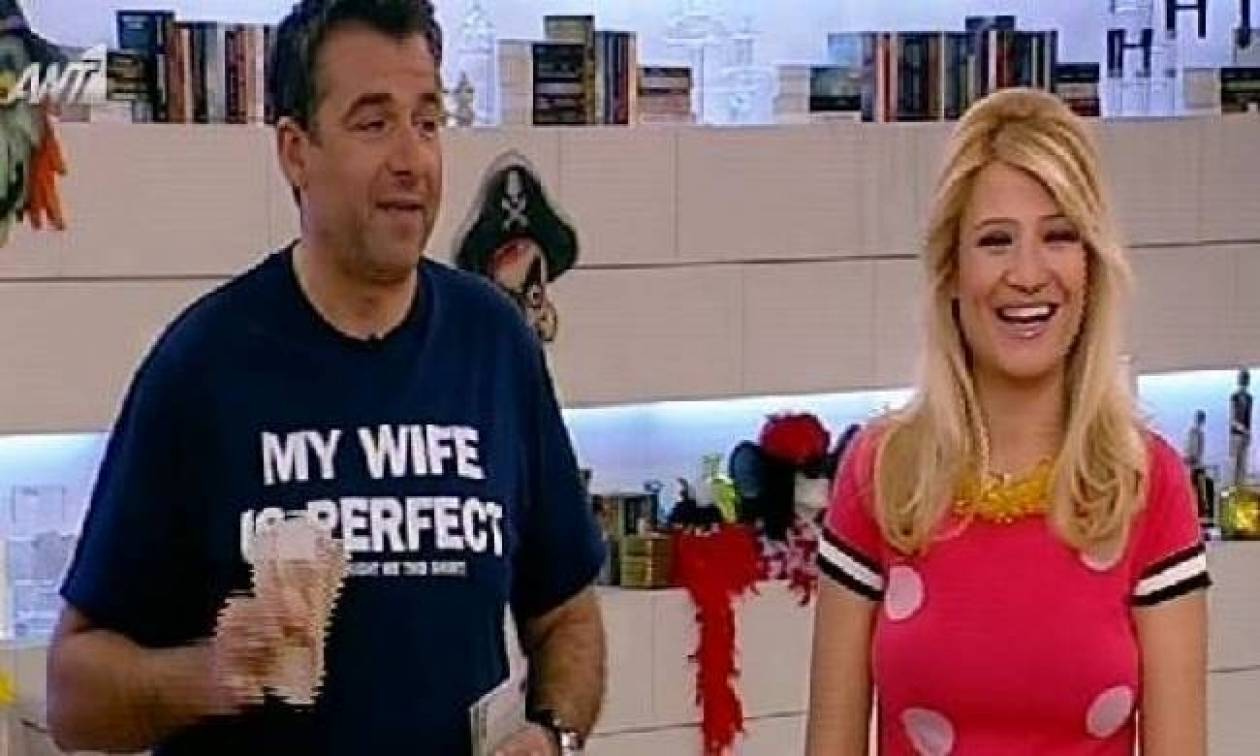 Λιάγκας: Φόρεσε μπλουζάκι που γράφει «Η γυναίκα μου είναι υπέροχη»