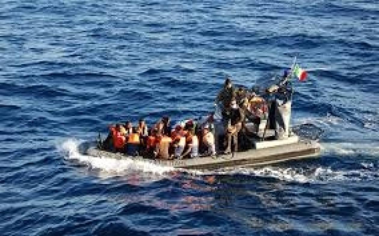 Έσωσαν 596 μετανάστες οι ιταλικές δυνάμεις νότια του Λαμπεντούζα