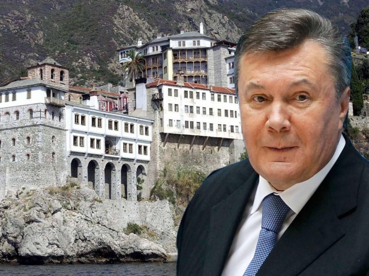 Στο Άγιο Όρος ο Γιανουκόβιτς;