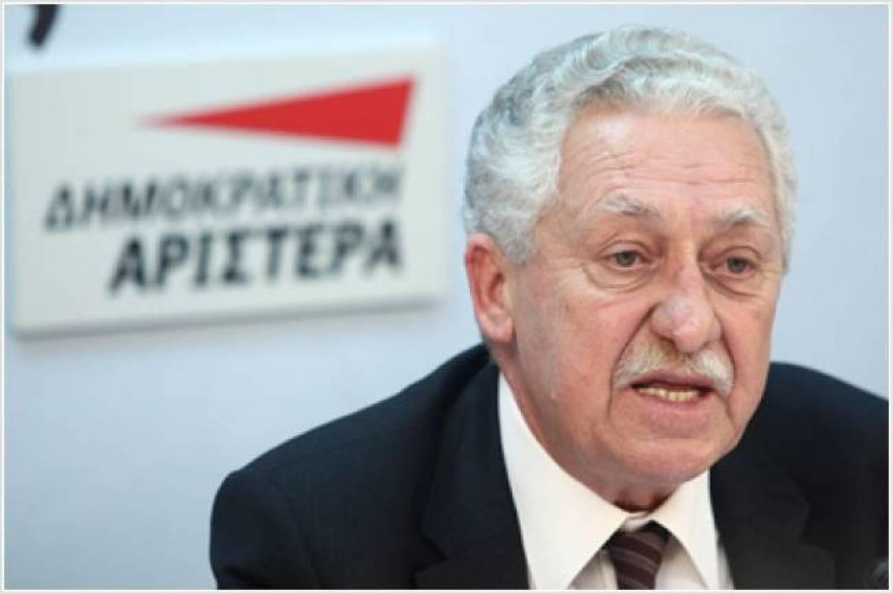 Ο Φ. Κουβέλης προσκεκλημένος σε φόρουμ των Ευρωσοσιαλιστών