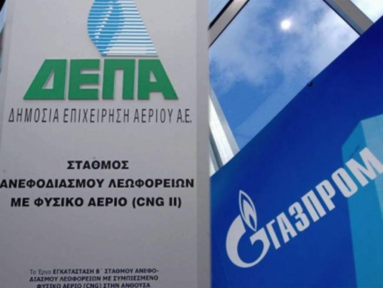 Θετικές αντιδράσεις μετά τη συμφωνία ΔΕΠΑ- Gazprom