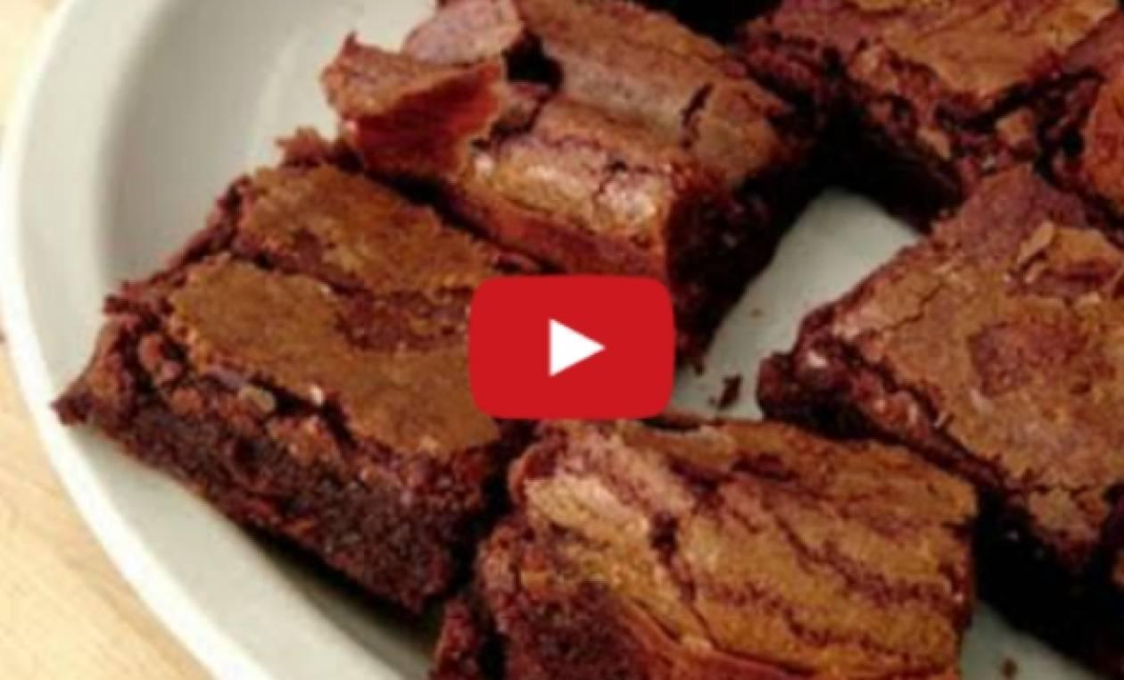 Φτιάξε μόνη σου τα πιο λαχταριστά brownies