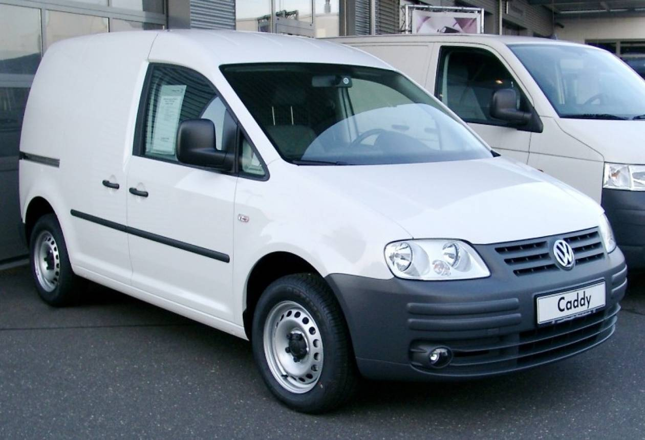 Η Volkswagen ανακαλεί 589.000 μίνι φορτηγά Caddy για έλεγχο