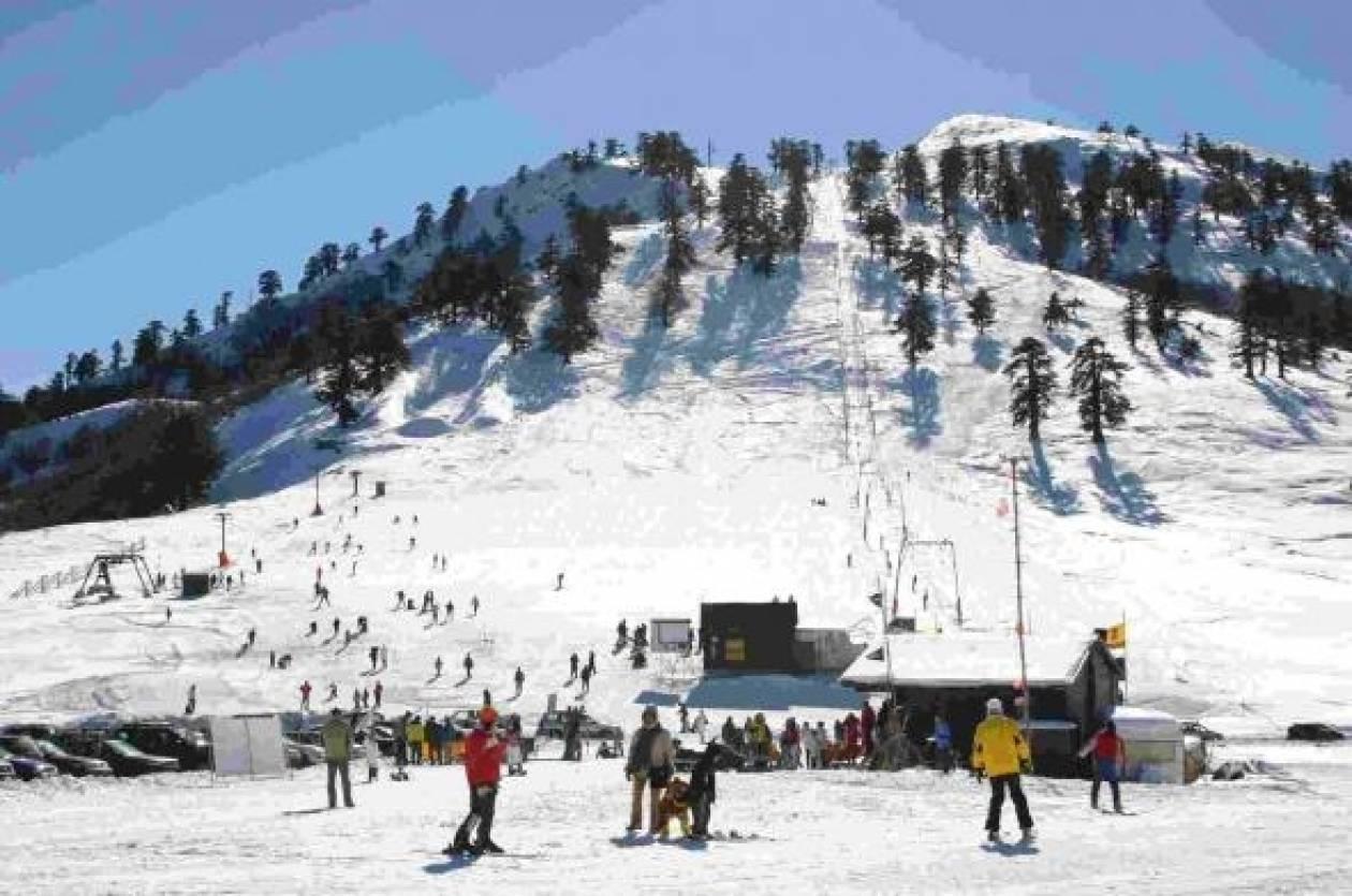 Ανοιχτά τα χιονοδρομικά κέντρα