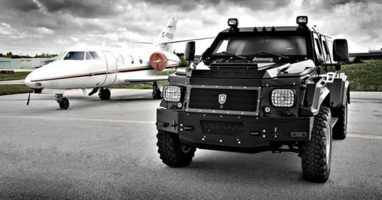 KNIGHT XV: Το αυτοκίνητο του Γιανουκόβιτς