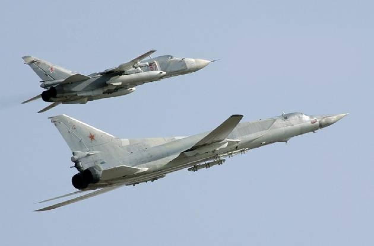 Σε κατάσταση μάχης τα ρωσικά μαχητικά αεροσκάφη στα δυτικά σύνορα