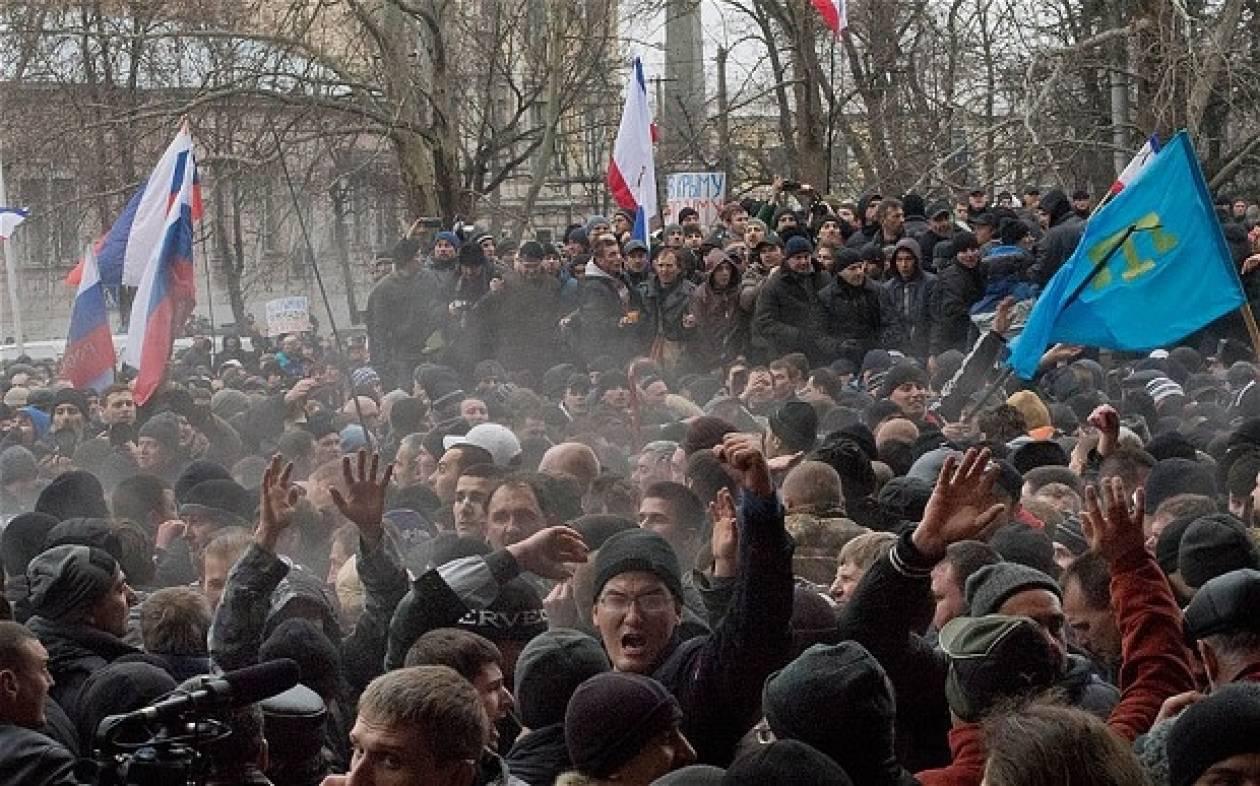 Διαβουλεύσεις με τη Ρωσία θέλει η Ουκρανία