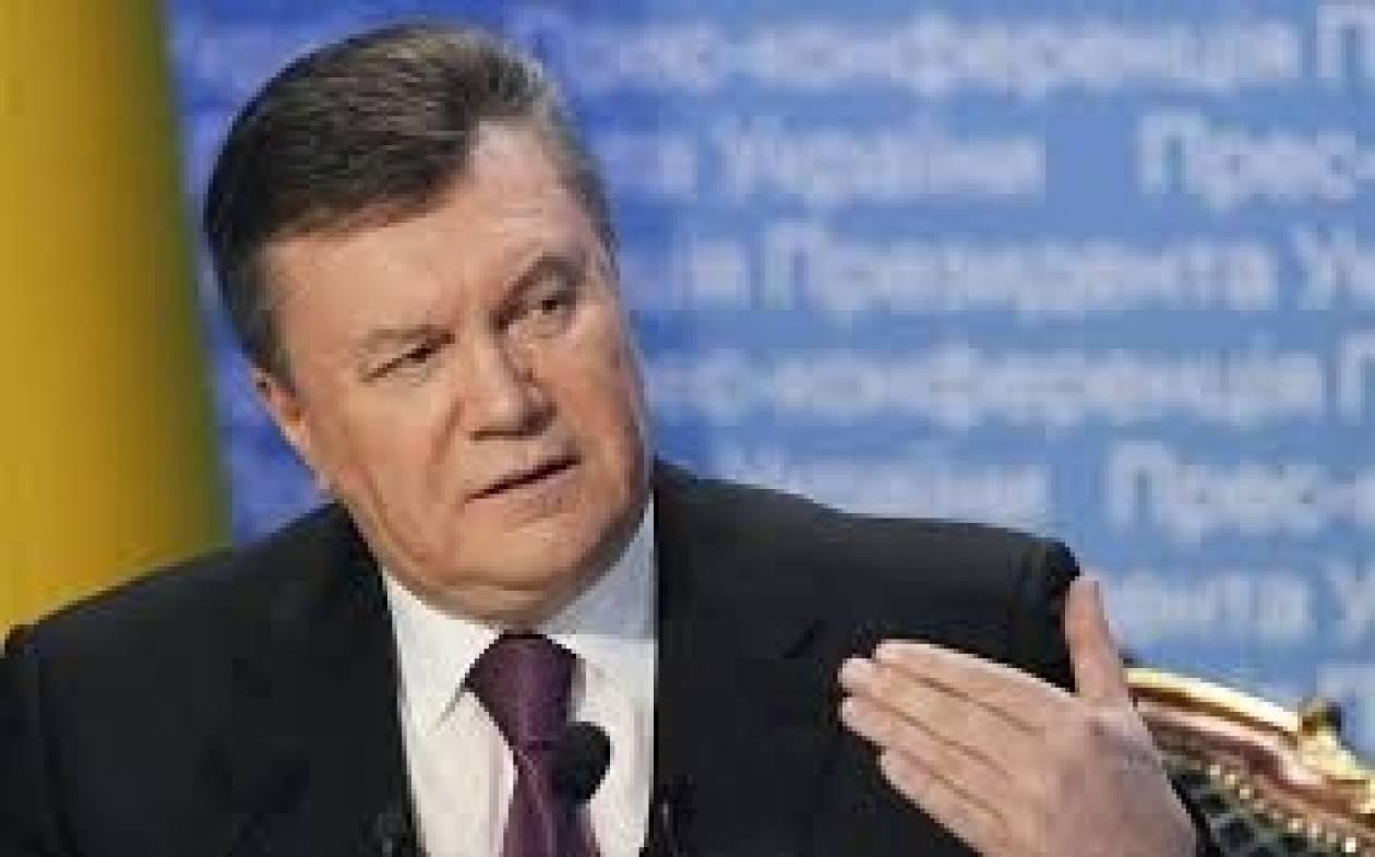Ουκρανία: Ο Γιανουκόβιτς θεωρεί ότι παραμένει πρόεδρος της χώρας!