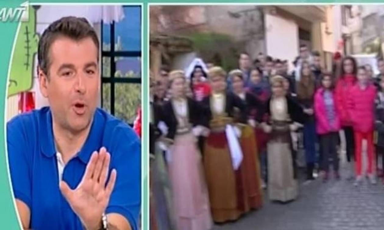 Γιώργος Λιάγκας: Νευρίασε τόσο που ζήτησε on air να τον «κόψουν»!