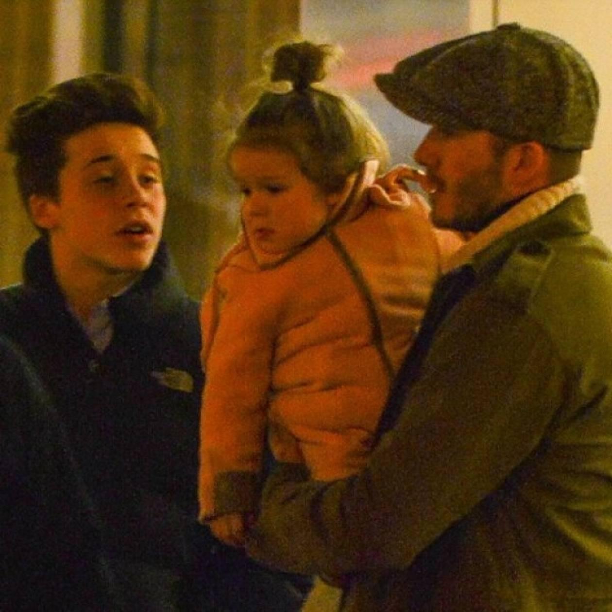 H Harper είναι η πριγκίπισσά του! Ο Beckham είναι δοτικός μπαμπάς
