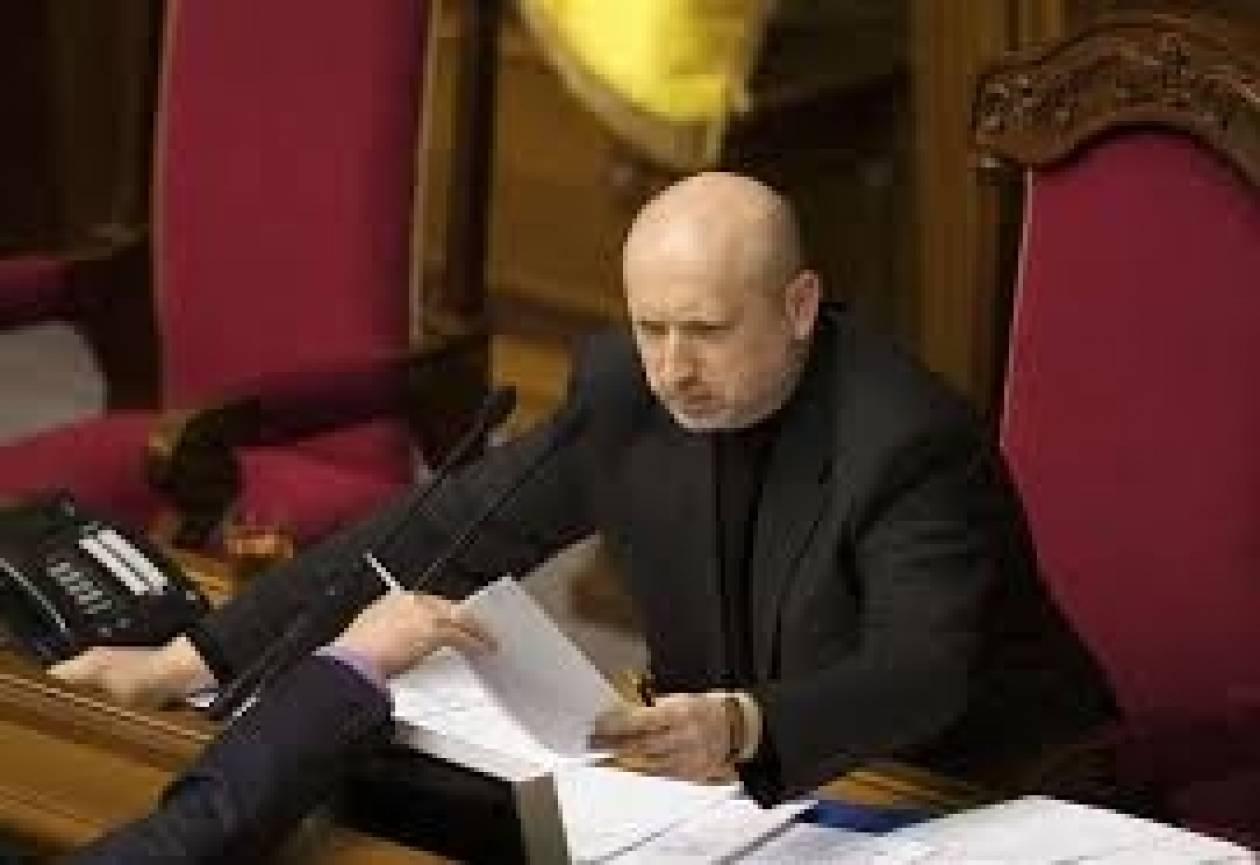 Ουκρανία: Στη Συμφερόπολη θα μεταβεί ο μεταβατικός πρόεδρος Τουρτσίνοφ