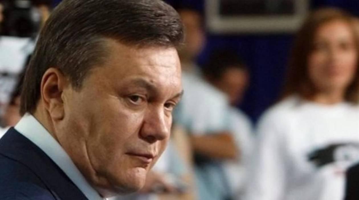 Οι ελβετικές αρχές «παγώνουν» τα κεφάλαια του Γιανουκόβιτς