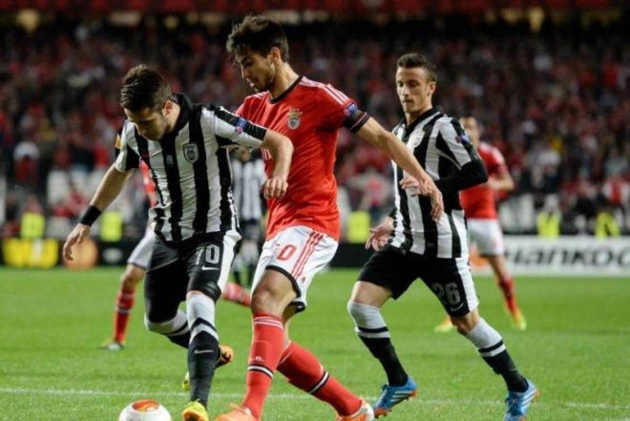 Μπενφίκα-ΠΑΟΚ 3-0: Δεν μπόρεσε και… κατέρρευσε