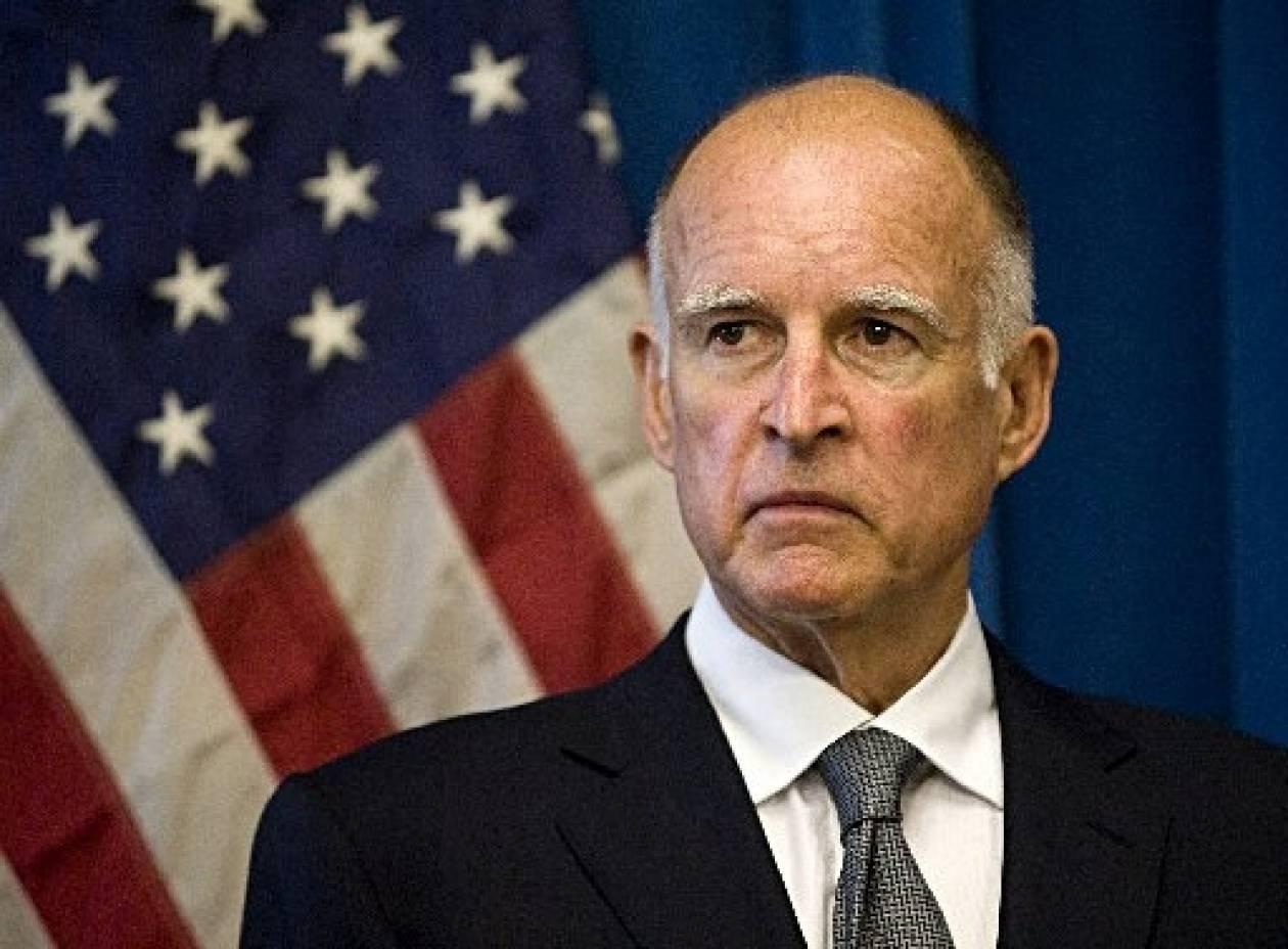Ο 75χρονος Μπράουν θέλει να γίνει και πάλι κυβερνήτης της Καλιφόρνια