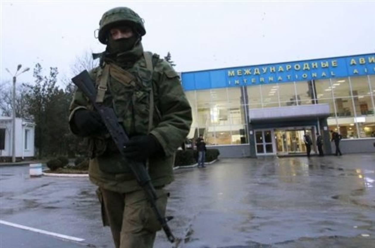 Κριμαία: Ρώσοι στρατιώτες κατέλαβαν το στρατιωτικό αεροδρόμιο