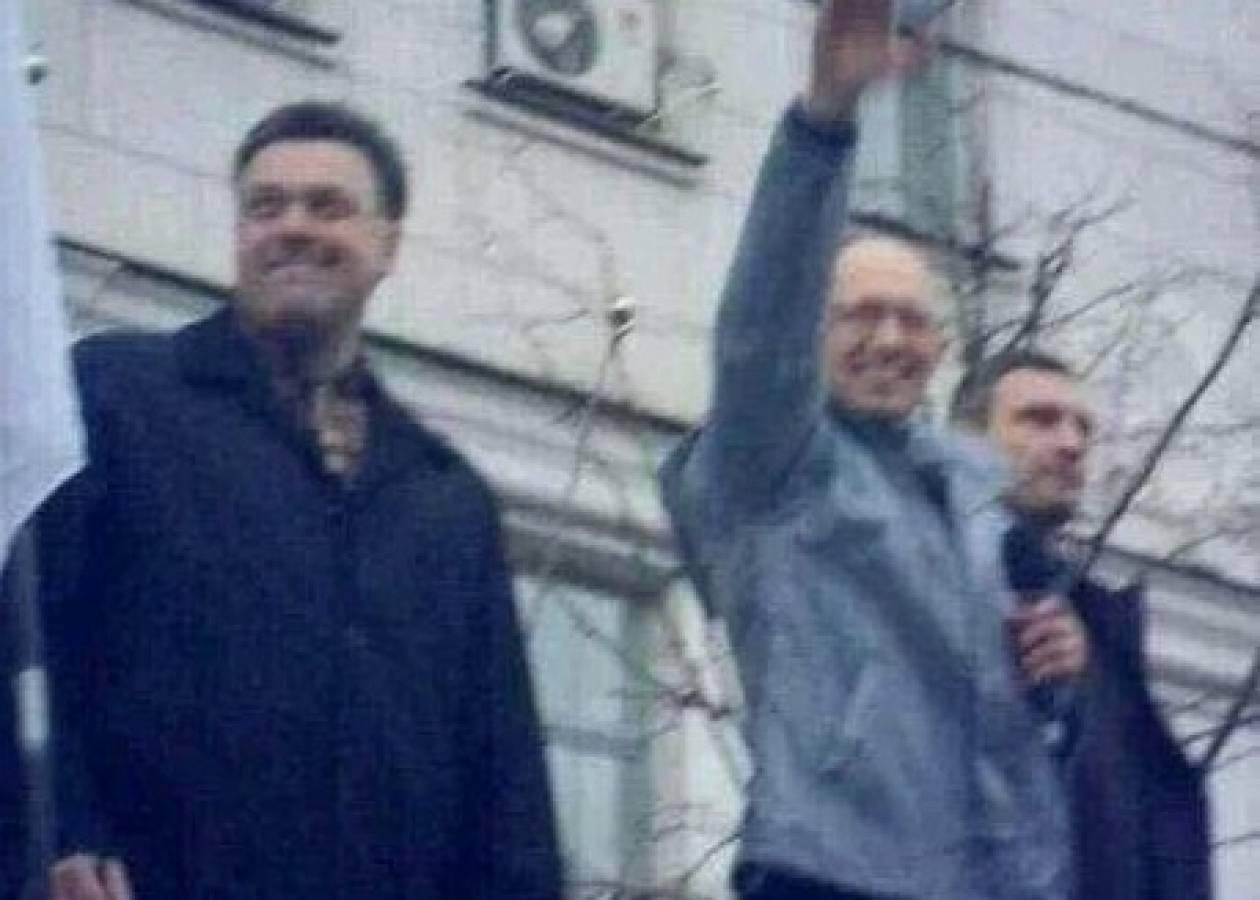 Σάλος με το ναζιστικό χαιρετισμό του νέου πρωθυπουργού της Ουκρανίας