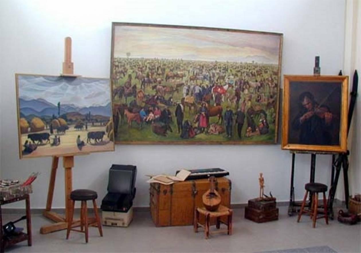 Ο ζωγράφος Δημήτρης Γιολδάσης «επιστρέφει» στην Καρδίτσα