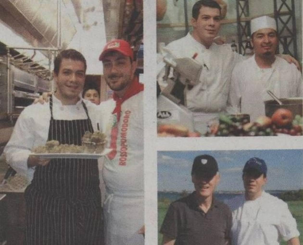 Ο Έλληνας σεφ που «τραπέζωσε» τον Ομπάμα (photo)
