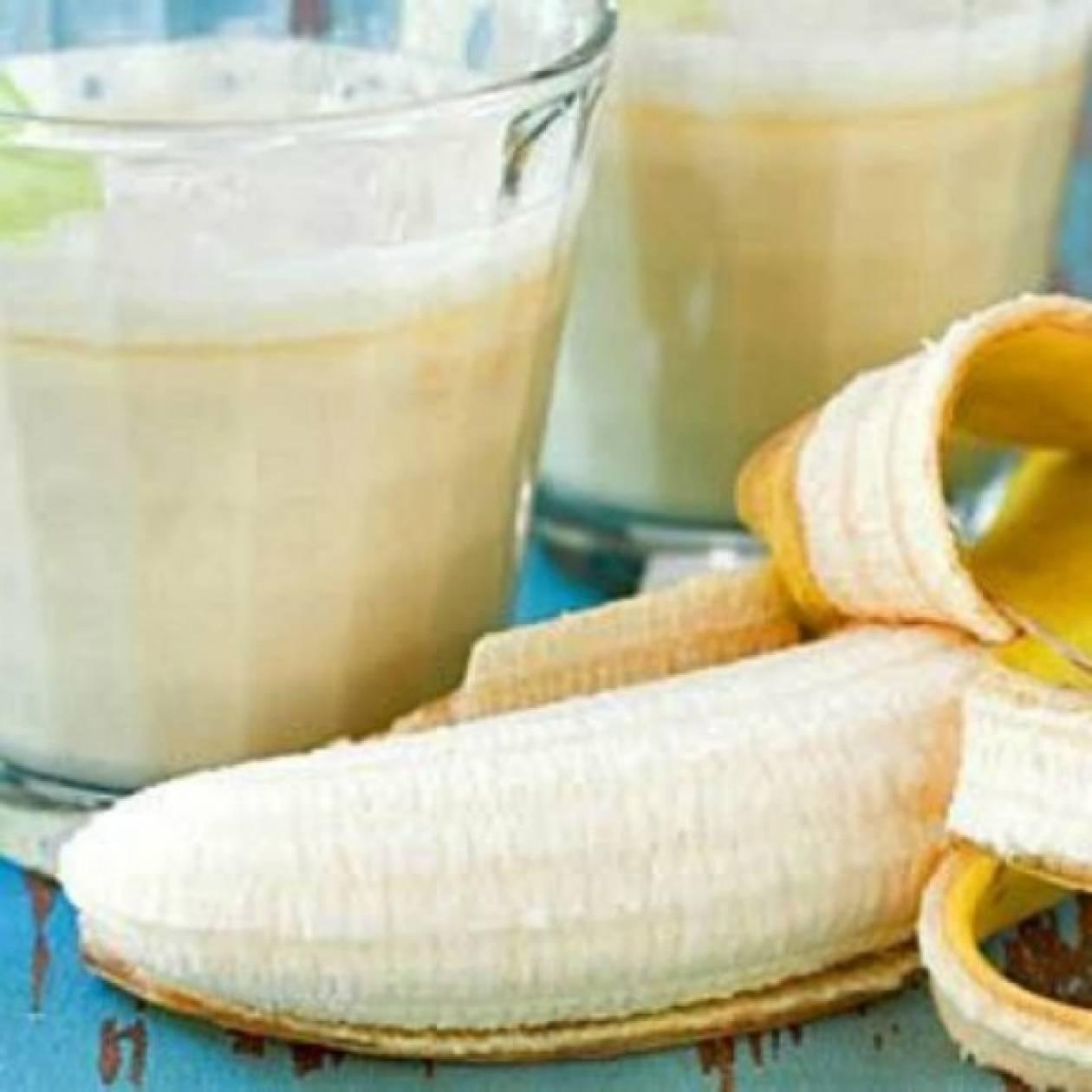 Χάστε την κοιλιά σας με smoothie μπανάνας και φυστικοβούτυρου