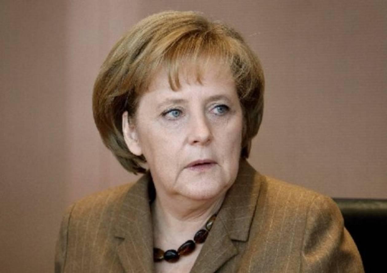 Η Μέρκελ ανησυχεί για πιθανή αποσταθεροποίηση στην Ουκρανία