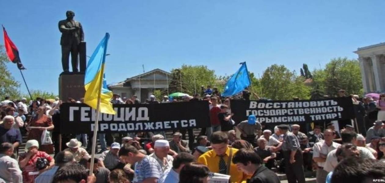 Τάταροι της Κριμαίας: Θα πάρουμε τα όπλα για να πολεμήσουμε