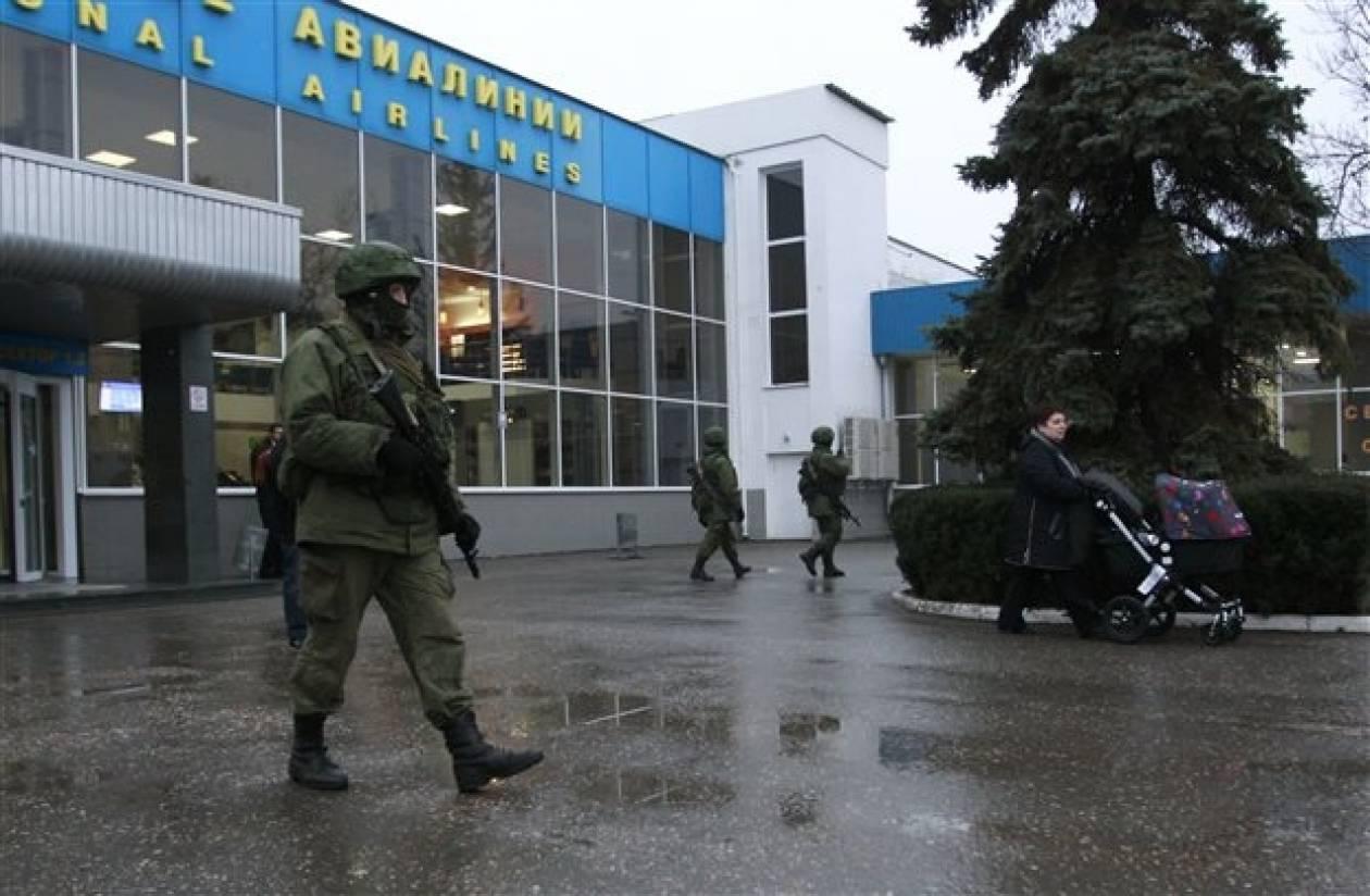 Έκλεισε ο εναέριος χώρος της Κριμαίας