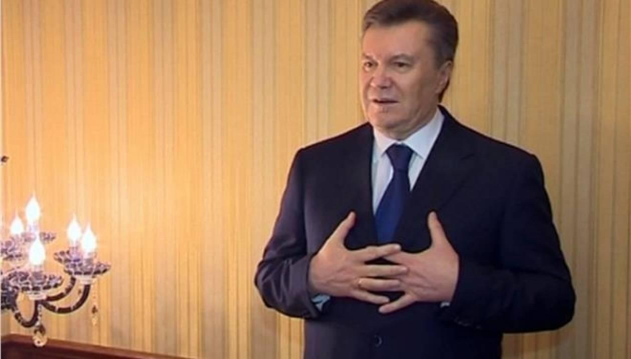 Οι αρχές ξεκίνησαν διαδικασίες για την έκδοση του Γιανουκόβιτς