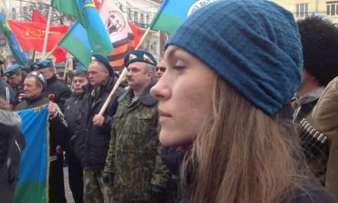 МИД ДНР Екатерина Губарева интервью сообществу Антимайдана 280414 ч1