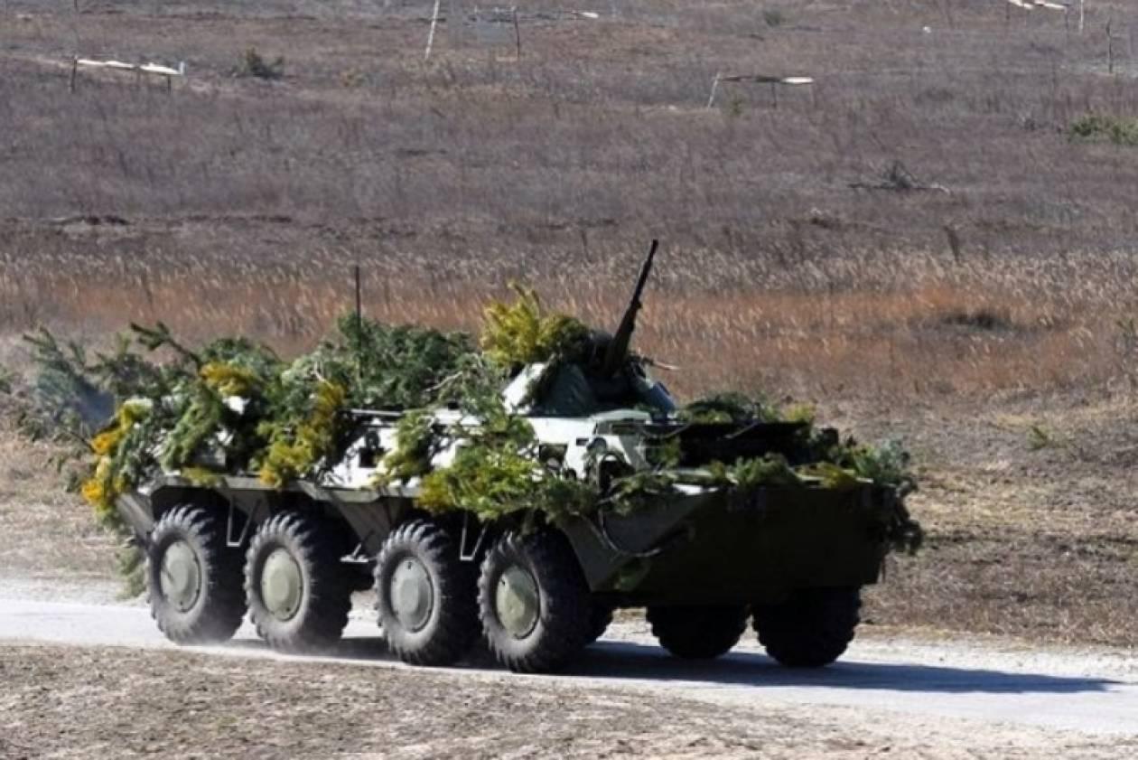 Ουκρανία: Δεν πραγματοποιεί τις ασκήσεις ο στρατός