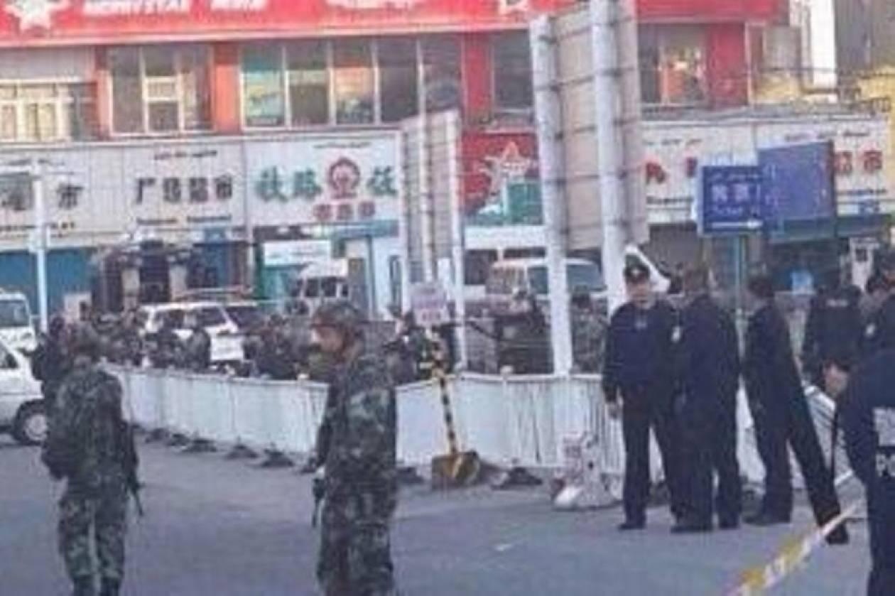 Κίνα: Έως και 50 τραυματίες από την έκρηξη στο σιδηροδρομικό σταθμό