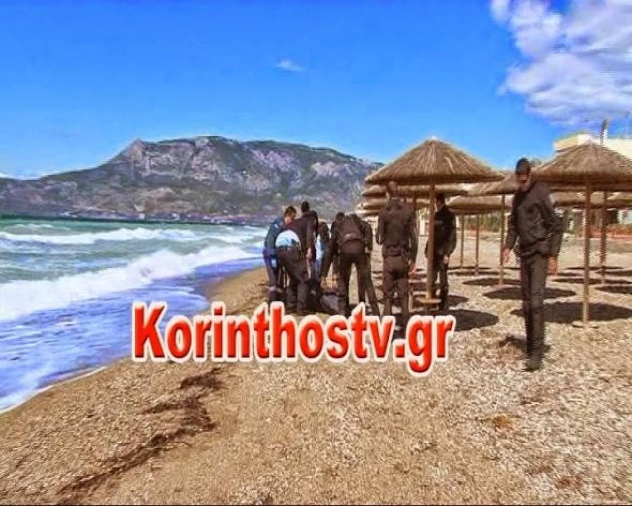 Μυστήριο με πτώμα άνδρα σε παραλία της Κορίνθου