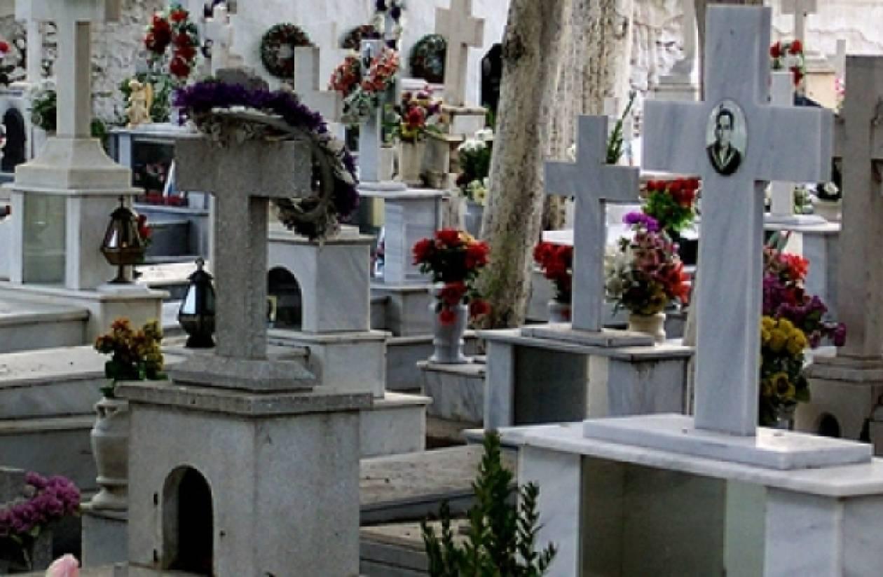 Διέρρηξαν το ίδιο νεκροταφείο για έκτη φορά!
