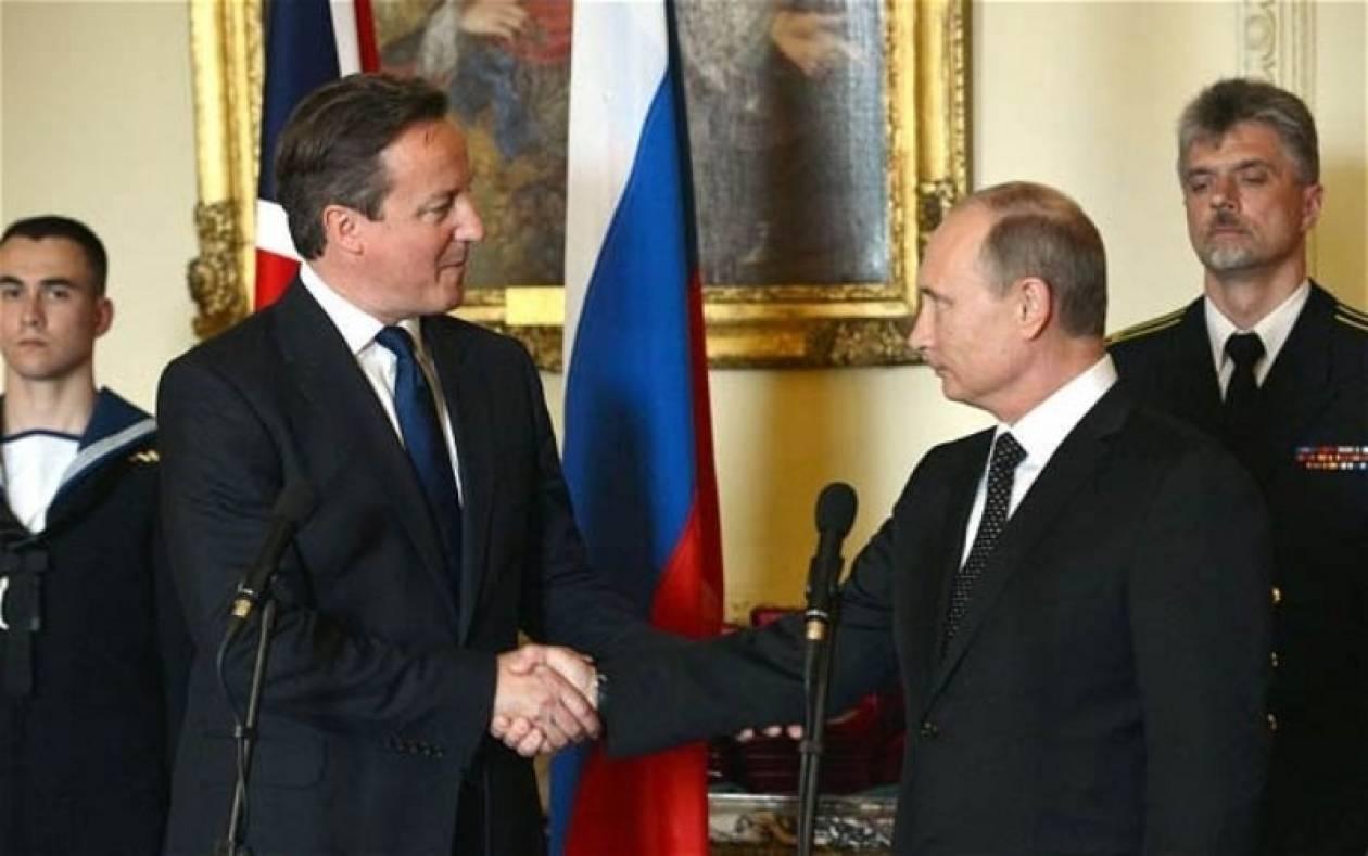 Πούτιν - Κάμερον: Συμφωνία για ειρηνική επίλυση της ουκρανικής κρίσης