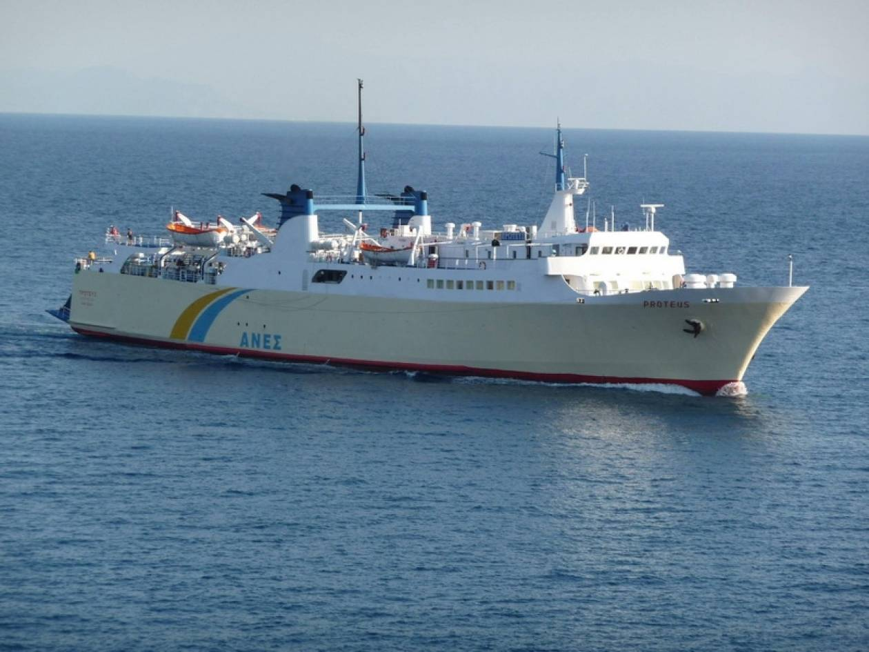 Μηχανική βλάβη για επιβατικό πλοίο στη Γλώσσα Σκοπέλου
