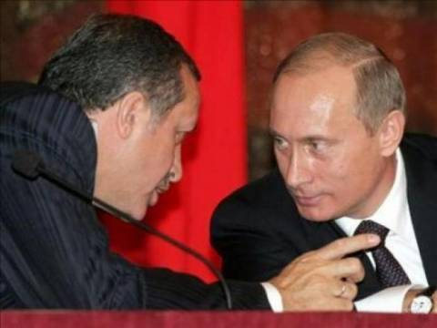 Τηλεφωνική συνομιλία Πούτιν - Ερντογάν για Ουκρανία-Συρία