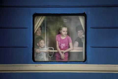 Η ανθρωπιστική τραγωδία είναι γεγονός στην Ουκρανία