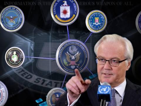 Tσούρκιν: Oι μυστικές υπηρεσίες των ΗΠΑ με παρακολουθούν