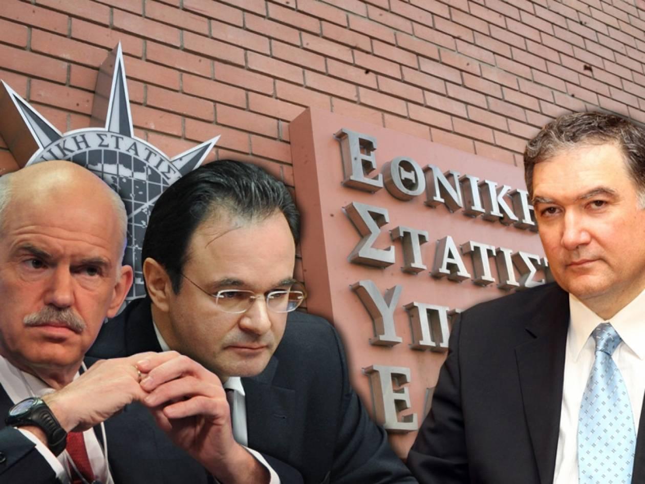 Στέλνουν στο αρχείο το σκάνδαλο της ΕΛΣΤΑΤ