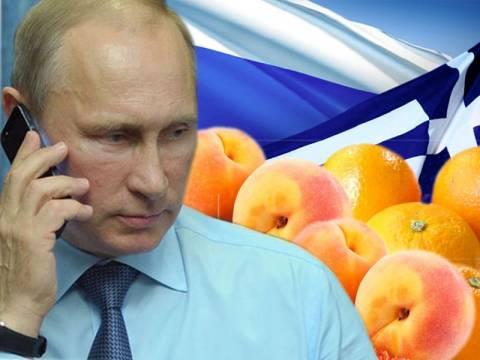 Αναμονή στο… ακουστικό για τυχόν απαγόρευση εισαγωγής ελληνικών φρούτων στη Ρωσία