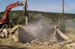 Δεκάδες κατεδαφίσεις αυθαιρέτων σε Πελοπόννησο, Δυτική Ελλάδα και Ιόνια Νησιά