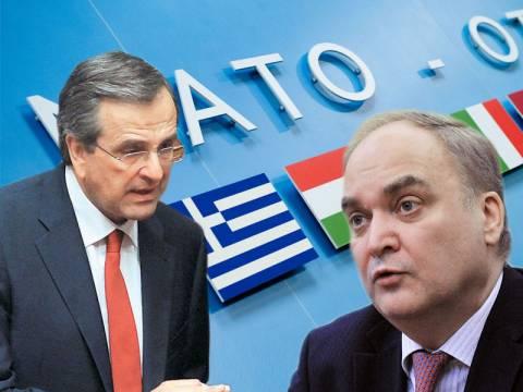 """Α.Αντόνοφ: """"Δεν είναι δική μας ευθύνη, που η ελληνική πολιτική ηγεσία ακολούθησε το ΝΑΤΟ"""""""
