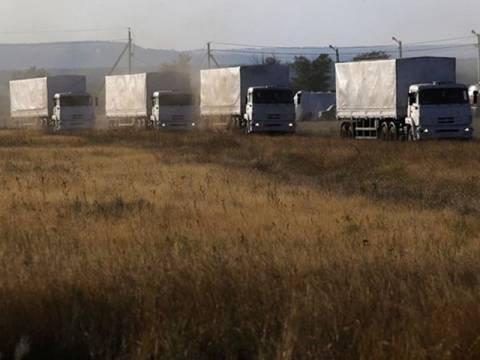 H Mόσχα αποφάσισε μονομερώς να ξεκινήσει την πορεία του ανθρωπιστικού φορτίου