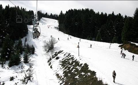 Κλείνει το Χιονοδρομικό Κέντρο Περτουλίου