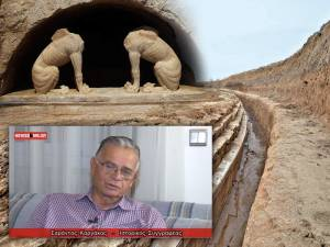 Αμφίπολη: Ο Σ. Καργάκος στην κάμερα του Newsbomb για τον τάφο και τον Μέγα Αλέξανδρο