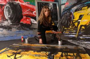 Velocita F1 2014: 'Εκθεση της Μίνας Παπαθεοδώρου-Βαλυράκη